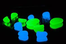 Светящиеся камни (светящаяся галька) 100г