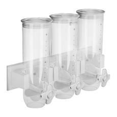 Дозатор для хлопьев - 3 х 1,5 литра - навесной Royal Catering, фото 2
