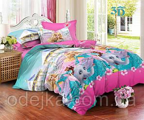 Детский комплект постельного белья 150*220 хлопок (13881) TM KRISPOL Украина