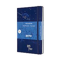 Блокнот Moleskine Harry Potter Средний (13х21 см) в Линейку Синий (8053853603708), фото 1