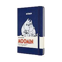 Блокнот Moleskine Moomin Середній (13х21 см) в Лінійку Синій (8053853603500), фото 1