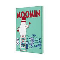 Блокнот Moleskine Moomin в Подарункової упаковці Середній (13х21 см) в Лінійку (8053853603517), фото 1