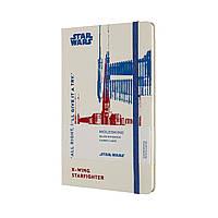 Блокнот Moleskine Star Wars Середній (13х21 см) в Лінійку X-Wing (8053853603753), фото 1
