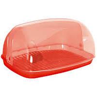 Хлебница миди 36*27*18 УП/167081 Красный, фото 1