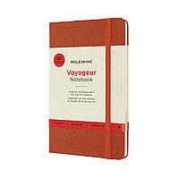Блокнот Moleskine Вояжер Медиум (11,5х18 см) Красный Гибискус (8053853603210), фото 1