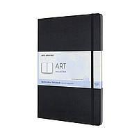 Блокнот Moleskine Art А4 (21х29,7 см) Акварель Черный (8058647626758)