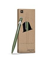 Ручка Caran d'Ache 849 Nespresso Тёмно-Зелёная + box (849.248) (7630002339858)
