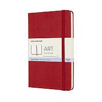 Блокнот Moleskine Art Медиум (11,5х18 см) Для набросков Красный (8053853603111)