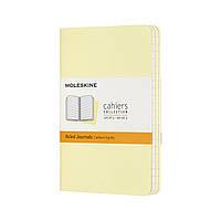 Блокнот Moleskine Cahier Карманный (9х14 см) в Линейку Нежный Желтый (8058647629704)