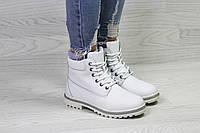 Женские зимние кроссовки Timberland, белые