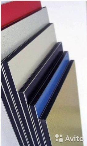 Алюмінієва композитна панель SKYBOND срібло яскраве, 3 мм (0,21/0,21), лист 1250х5800 мм, фото 2