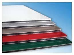 Алюминиевая композитная панель SKYBOND белый, мат / глянец, 3 мм (0,21 / 0,21), лист 1500х5800 мм