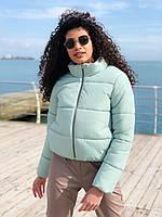 Женская весенняя куртка дутая в ярких,нюдовых и темных рацветках,размер универсал 42-46
