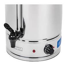 Пищевой нагреватель для воды - 15 л - нержавеющая сталь - 2500W Royal Catering, фото 3