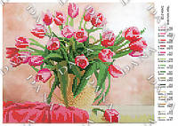 Схема для вышивки бисером Магия тюльпанов
