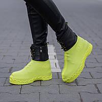 Силіконові чохли-бахіли для взуття Vietnam  560122 Yellow