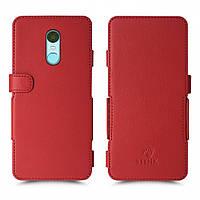 Чехол книжка Stenk Prime для Xiaomi Redmi 5 Plus Красный