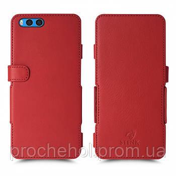 Чехол книжка Stenk Prime для Xiaomi Mi Note 3 Красный