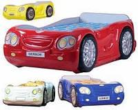 Кровать-машинка Лео