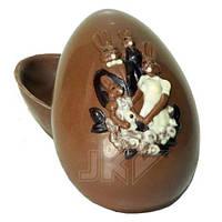 Форма для шоколада 3D — Яйцо с рисунком
