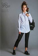 Школьные брюки для девочки Baby Angel 1115, цвет черный р.152