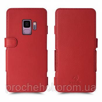 Чехол книжка Stenk Prime для Samsung Galaxy S9 Красный