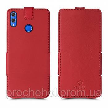 Чехол флип Stenk Prime для Huawei Honor 8X Красный
