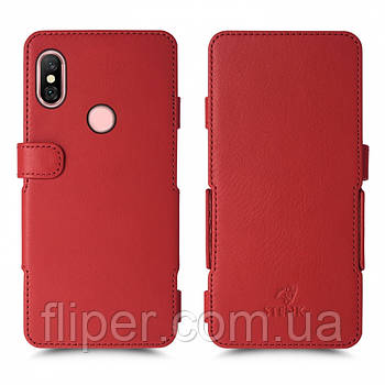 Чехол книжка Stenk Prime для Xiaomi Redmi Note 6 Pro Красный