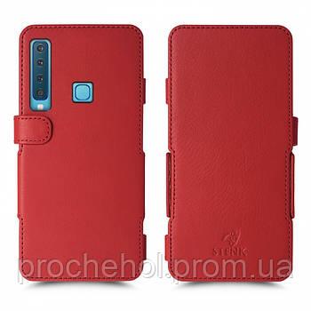 Чехол книжка Stenk Prime для Samsung Galaxy A9 (2018) Красный
