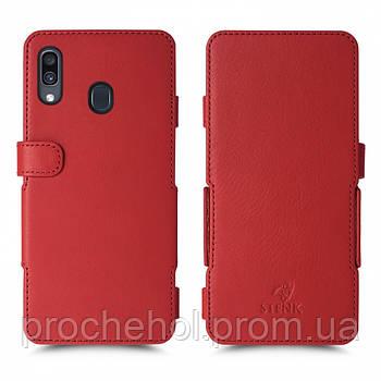 Чехол книжка Stenk Prime для Samsung Galaxy A30 Красный