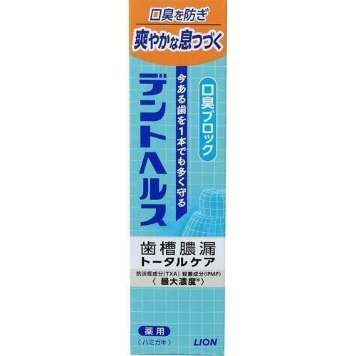 Lion Dent стоматологическая лекарственная зубная паста с компонентом подавляющим неприятный запах 28 г