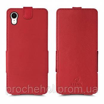 Чехол флип Stenk Prime для Apple iPhone XR Красный