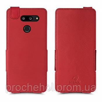 Чехол флип Stenk Prime для LG G8 ThinQ Красный
