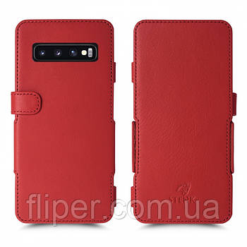 Чехол книжка Stenk Prime для Samsung Galaxy S10 Красный