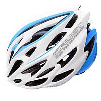 Велошлем защитный Meteor Crust in-Mold (original) кросс-кантрийный с регулировкой, шлем велосипедный M