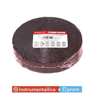 Сырая вулканизационная резина 500 г 1,3 мм 25 мм РС-500 1,3 Rossvik цена за рулон