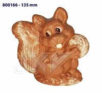 Форма для шоколада 3D — Белка с орехом