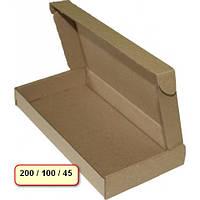 Картонные коробки самосборные 200х100х45