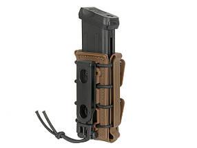 Ładownica Soft Shell na magazynki do pistoletu 9mm - Dark Earth [FMA] (для страйкбола), фото 3