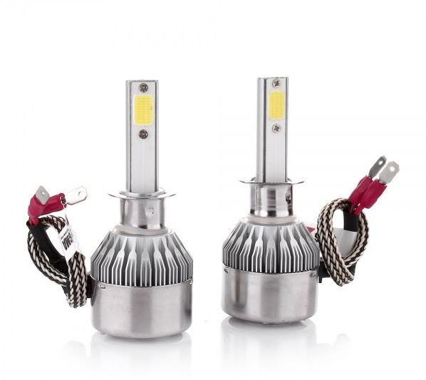 Галогенные лампы для авто C6-H1 (2шт.)