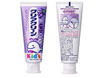 Kao Clear Clean Kids A5 детская зубная паста-гель с микрогранулами  и вкусом винограда 70 г