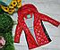 Стильные удлиненные детские куртки на девочек, фото 5