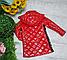 Стильные удлиненные детские куртки на девочек, фото 6