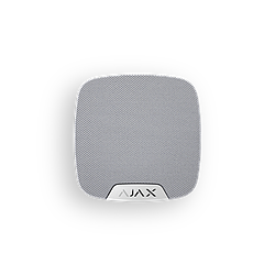 Беспроводная комнатная сирена Ajax HomeSiren (white)