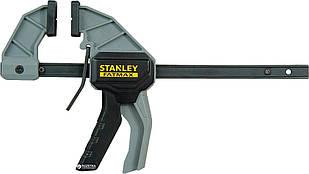 Струбцина триггерная Stanley FatMax М с максимальным усилием сжатия 45 кг, длина 475 мм (FMHT0-83233)