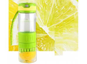 Бутылка для воды и напитков с соковыжималкой Citrus Zinger