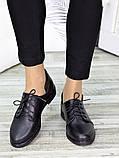 Туфли черные кожаные 7265-28, фото 3