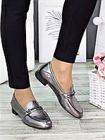 Туфли кожаные сатин Пегги 7277-28, фото 1