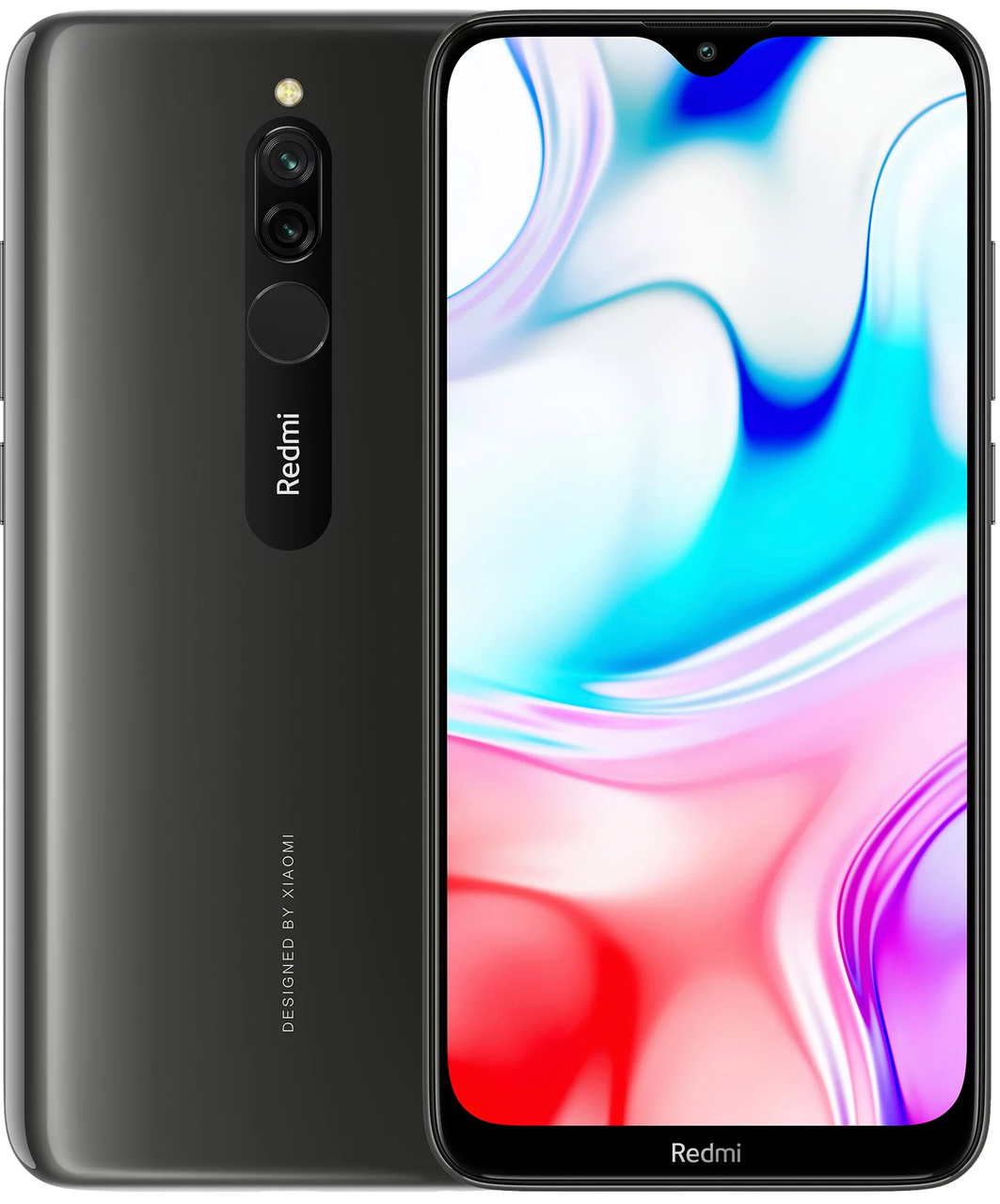 Xiaomi Redmi 8 3/32 Черный Global ( Международная версия )