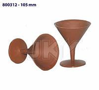 Форма для шоколада 3D — Фужер для мартини